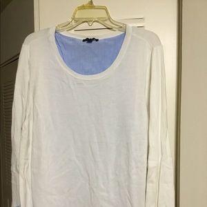 Tommy Hilfiger Women's XXL Layered Sweater